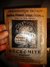 Ancien Insecticide Contre Mite Protection Fourrure LE NECROMITE ill R de SOVIA