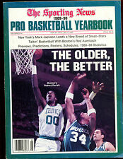 1989/1990 The Sporting News Pro Basketball Yearbook VGEX