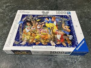 Ravensburger Disney 1000 Piece Jigsaw Puzzle - Snow White Collector's Edition