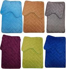Leo Memory Foam Bath Mat Absorbent Slip-resistant Pad Bathroom Kitchen Soft Mats