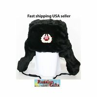 Russian Russia traditional  Military Army  Winter Warm Trapper Hat  Cap Ushanka
