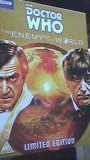Doctor Who: The Enemy of the World DVD Patrick Troughton GOLD COVER LTD. EDITION