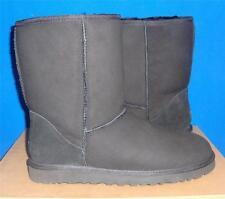 UGG Australia Men's Black Classic Short Boots Size US 8, UK 7 EU 41 NEW #5800