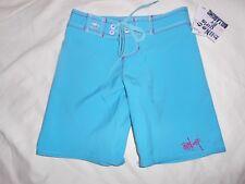 Billabong Billie Girl Turquoise Swim/Board/Surf Shorts Girls Size 5