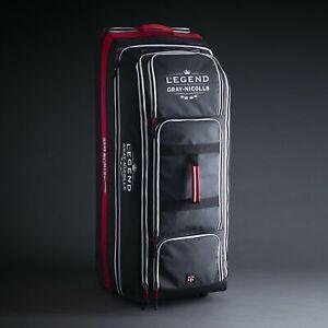 2021 Gray Nicolls Legend Black Wheelie Cricket Bag Size -  100cm x 40cm x 40cm