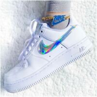 Nike Air Force 1 Womens Trainers Seashell Rainbow White Limited Edition All Size