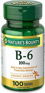 Vitamin B6 by Nature's Bounty, Vitamin Supplement, Supports Energy...