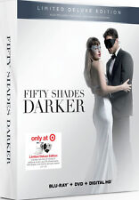 Fifty Shades Darker Deluxe Edition (Blu-Ray/DVD/Digital + Wine Charms/Stopper)