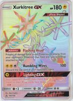 Pokemon: Xurkitree GX Secret Rare - 160/156 - Sun & Moon: Ultra Prism