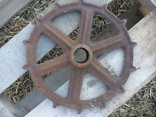 Old Rusty Iron Gear Steampunk Garden Art Decor