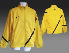 Neu Nike Stay Warm Fußball Trainings Trainingsanzug Jacke Gelb Schwarz Rand M