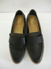 Crown Vintage Miaa Loafer Black Loafers Womens US Size 7 M