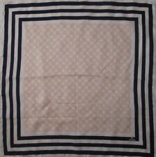 -Superbe Foulard SINÉQUANONE   soie TBEG  vintage scarf 64 x 66 cm