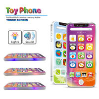 Kids Music Toy USB Cell Phone Educational Learning Play Touch Screen Child Gift