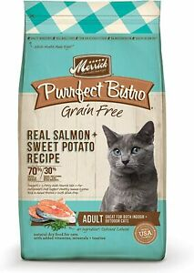 Merrick Purrfect Bistro Grain Free Real Salmon Adult Dry Cat Food