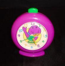 Rare Vintage Barney the Dinosaur 1993 Armitron Alarm Clock The Lyons Group