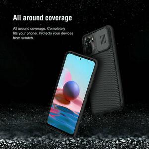 For Nillkin Xiaomi Redmi Note 10 /10 Pro Max Slide Camera Protection Case Cover