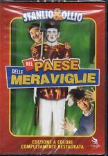 STANLIO & OLLIO - NEL PAESE DELLE MERAVIGLIE - DVD (NUOVO SIGILLATO) A COLORI