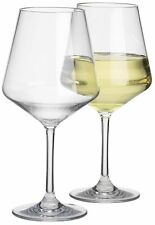 Savoy Extra Fine Unbreakable Polycarbonate Wine Glasses | Large 570 ml
