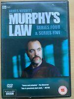 Murphy's Law Season 4 + 5 DVD Box Set British TV Crime Thriller Drama Series