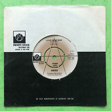 HERO - Love Gone Bad - RARE PROMO COPY - Private Stock PVT-102 VG+