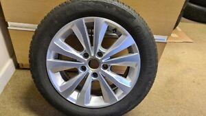"VW Golf 2012-2017 Mk7 4 x 16"" Alloy Wheels All Season Winter Continental Tyres"