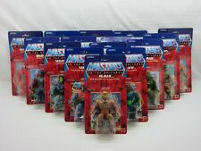 MOTU,Commemorative Figures,Lot of 15,Sealed,MOC,Masters of the Universe,He-man