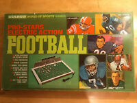 Coleco World Of Sports Games Pro-Stars Electric Action Football