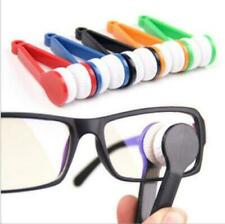 3 x Microfibre Glasses Cleaner Spectacles Eyeglasses Cleaning Cloth Soft Brush