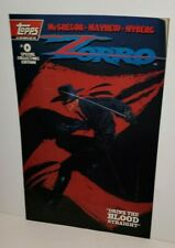 ZORRO TOPPS COMIC SPECIAL COLLECTORS EDITION COMIC BOOK #0 NOVEMBER 1993 MAYHEW