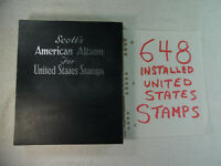 Scott's American Album for United States Stamps 648 Installed Stampbook2C