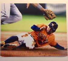 JOSE ALTUVE Houston Astros Slide Sliding 8x10 Photo Matte Baseball Photograph