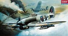 MODEL AIRCRAFT ACADEMY HAWKER TYPHOON MK.1B 1:72 SCALE