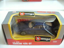 Bburago burago Ferrari 456 GT in Dark Blue on 1:43 in Box