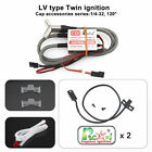Rcexl LV type Twin Ignition CDI for ME-8 1/4 -32 120 Degree for RC Model Engine