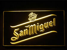 J522Y San Miguel Beer For Pub Bar Display Decor Light Sign