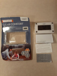 Orbit 83521 Clear Comfort Programmable Thermostat with Large, Easy-to-Read Displ