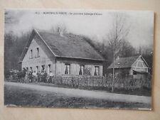 CPA MONTREUX VIEUX (68) LA PREMIERE AUBERGE D'ALSACE - ANIMEE