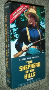THE SHEPHERD OF THE HILLS VHS