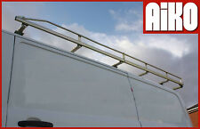 TCX616 Ford Transit Custom LWB 5 bar + roller roof rack bar set