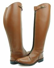 Hispar Invader-1 Ladies Women Tall knee high Leather Equestrian Polo Boots