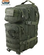 Green Hex Tac Small Molle 28 Litre Tactical Assault Pack Bag Airsoft Military