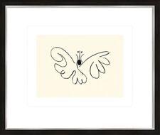 artissimo Kunstdruck mit Rahmen 63x53cm Picasso: Tiere Bild Poster gerahmt