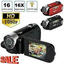 1080P Camcorder Digital Video Camera TFT LCD Sceen 24MP 16x DV AV Night Vision F