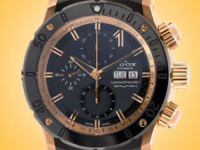 "EDOX ""CO-1"" Automatic Chronograph Rose Gold PVD Steel Men's Watch"