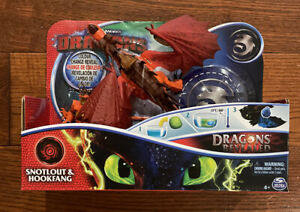 Dreamworks How to Train Your Dragon Snotlout And Hookfang Dragons Revealed New