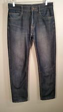 High End Japanese jeans Zhenyifang Size 30 meas. 31 x 30 tapered slightly shiny