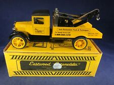 E3-35 EASTWOOD AUTOMOBILIA DIE CAST BANK TOW TRUCK / WRECK AUTO RESTORATION TOOL