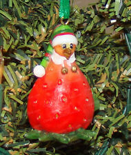 Strawberry HEN (Home Grown by Enesco, 4015600) Christmas Ornament