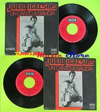 LP 45 7''JULIO IGLESIAS Un canto a galicia Como el almo al camino 1972 cd mc dvd